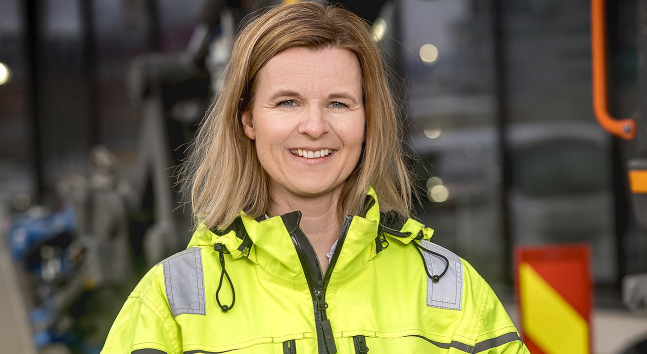 Camilla Krogh, daglig leder for Ulven AS og Construction City Eiendom. Foto: Morten Bendiksen
